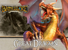 BattleLore (Second Edition) - Great Dragon Reinforcement Pack (Board Game)