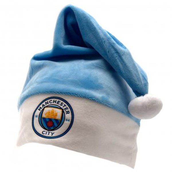e05e297ae94 Manchester City - Christmas Club Crest Hat - Merch Online