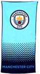 Manchester City - Fade Beach Towel Cover
