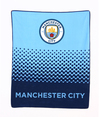 Manchester City - Fade Fleece Blanket Cover