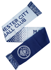 Manchester City - Fade Scarf - Cover