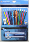 Manchester City - Fade Ultimate Stationery Set Cover
