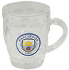 Manchester City - Glass Tankard