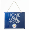 Manchester City - Home Sweet Home Sign
