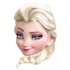 Frozen - Face Mask - Elsa