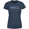 Magic The Gathering - 93 Vintage Logo Women's Navy T-Shirt (Large)