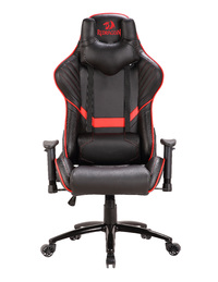 Redragon - Coeus Gaming Chair Black/Red - Cover