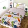 Dinosaur Duvet Set - Natural (Single)