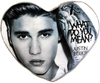 Justin Bieber - Heart Shaped Cushion