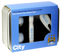 Manchester City - Players Golf Gift Set - Cover