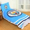 Manchester City - Reversible Pulse Duvet Set (Single)