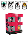 Suicide Squad - Shot Glasses (Pack of 4)