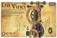 Academy - Da Vinci Clock (Plastic Model Kit) - Cover