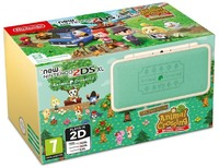 New Nintendo 2DS XL Handheld Console - Animal Crossing Edition Welcome amiibo - Cover