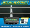 Scalextric - Power & Control Base - 175mm x 2 Plus Two Hand Controllers