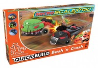 Scalextric - Micro Scalextric QUICK BUILD Bash 'n' Crash Slot Cars Set - Cover