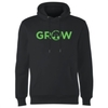 Magic The Gathering - Grow Men's Black Hoodie (X-Large)