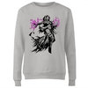 Magic The Gathering - Liliana Character Art Women's Grey Sweatshirt (Medium)