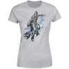 Magic The Gathering - Jace Character Art Women's Grey T-Shirt (Large)