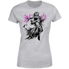 Magic The Gathering - Liliana Character Art Women's Grey T-Shirt (Large)