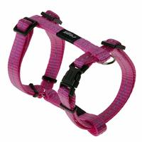 Rogz - Utility Small 11mm Nitelife Dog H-Harness (Pink Reflective) - Cover