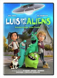 Luis & the Aliens (Region 1 DVD) - Cover