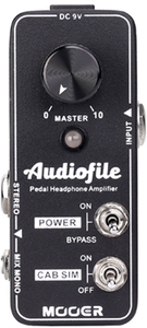 Mooer Audiofile Headphone Amplifier Pedal - Cover