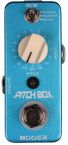Mooer Pitch Box Harmony/Pitch Shifting Pedal - Cover
