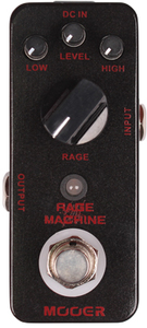 Mooer Rage Machine Metal Distortion Pedal - Cover