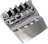 Allparts 4 String Replacement Bass Guitar Bridge and Tailpiece for Rickenbacker (Chrome)