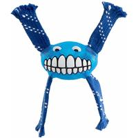 Rogz - Flossy Grinz Small 190mm Oral Care Dog Toy (Blue)