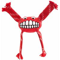 Rogz - Flossy Grinz Small 190mm Oral Care Dog Toy (Red)