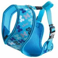 Rogz - Lapz Extra Medium 16mm Trendy Wrapz Harness (Blue Bones Design)