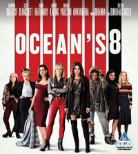 Ocean's 8 (Blu-ray) - Cover