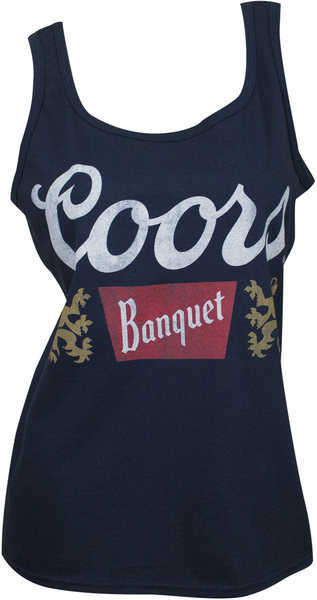00c47ae20b53a Coors Banquet - Ladies Tank Top (XX-Large) - Merch Online | Raru