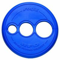 Rogz - Flying Object Large 250mm Dog Throwing Disc Toy (Blue)