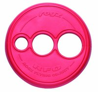 Rogz - Flying Object Large 250mm Dog Throwing Disc Toy (Red) - Cover