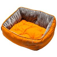 Rogz - Lapz Luna Podz Small (Orange Paw Design on Orange)