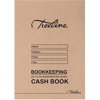 Treeline - A4 Soft Cover Cash Bookkeeping Book - 72 Page (Pack of 20)