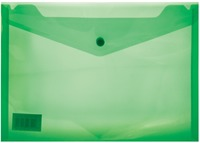 Treeline - A4 PVC Carry Folder With Stud Green - Cover