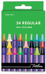 Treeline - Regular Wax Crayons 24 Piece Cover