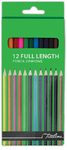 Treeline - Pencil Crayons 12's Assorted