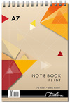 Treeline - A7 Spiral Note Books Top Bound Wiro 72 pg (Pack of 10)