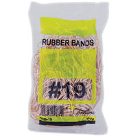 Treeline - No. 19 Rubber Bands - Approx 210 Bands (Pack of 10)