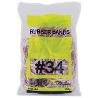 Treeline - No. 34 Rubber Bands - Approx 109 Bands