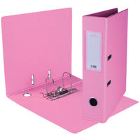 Treeline - A4 Lever Arch File PVC (Pink)
