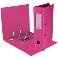 Treeline - A4 Lever Arch File PVC (Hot Pink)