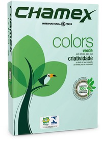 Chamex - A4 Tinted Colour Paper Ream - Green (500 Sheets) - Cover