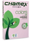 Chamex - A4 Tinted Colour Paper Ream - Pink 500 Sheets (Pack of 10)