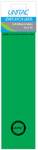 Unitac - Lever Arch Labels - Green Pack of 12 (Box of 10)